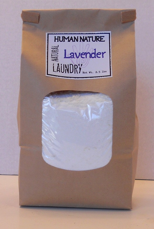 All-Natural Laundry Soap!